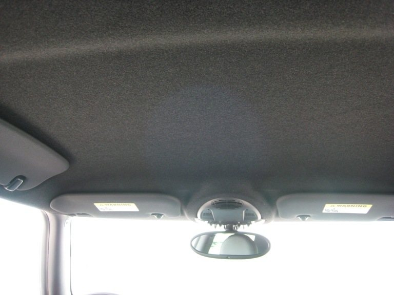 Anthracite headliner