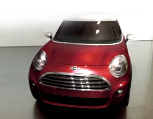 Photoshop of MINI Crossover Exterior from Automobile.fr