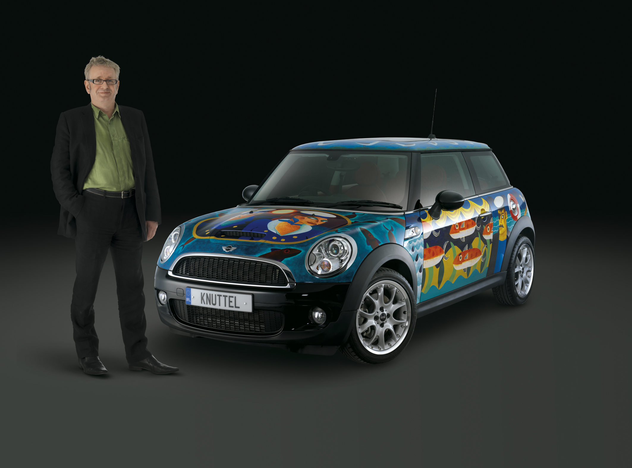 MINI Ireland R56 Graham Knuttel Art Car