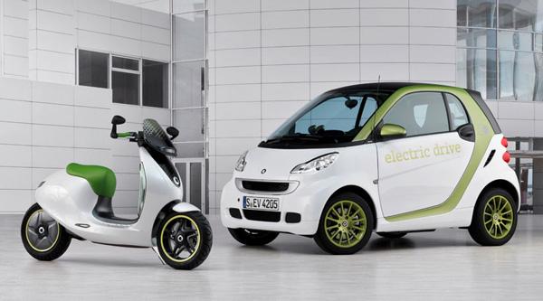 Smart E-scooter Concept