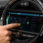 MINI's new touchscreen navigation