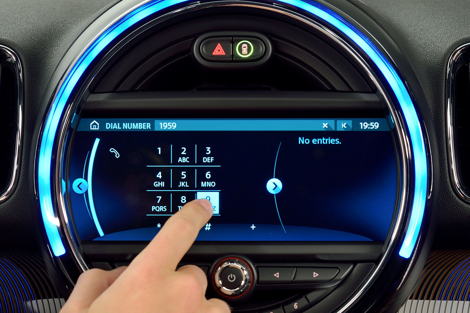 mini s new touchscreen navigation is a huge upgrade 2015. Black Bedroom Furniture Sets. Home Design Ideas