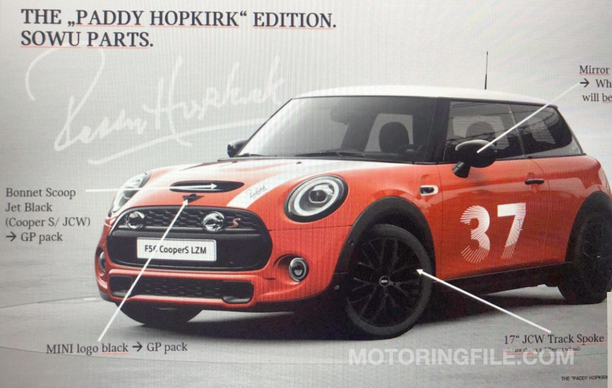 paddy hopkirk special edition