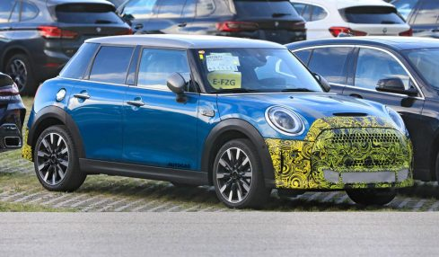 2022 MINI facelift