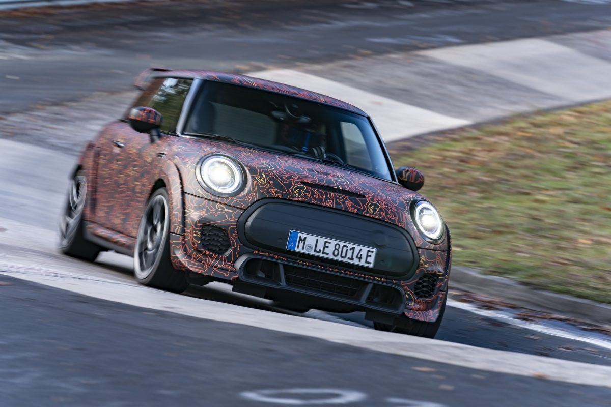MINI JCW Gp electric